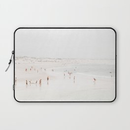 At The Beach (seven) - minimal beach series by Ingrid Beddoes Laptop Sleeve
