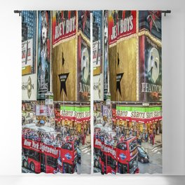 Times Square II Blackout Curtain