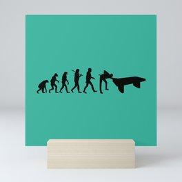 Evolution snooker Mini Art Print