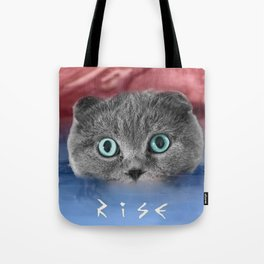 Scottis Fold Cat- Kitten Katy Tote Bag
