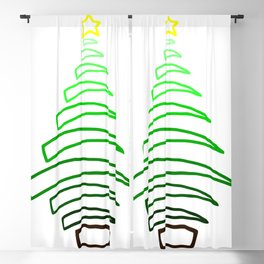 Christmas Tree! Blackout Curtain