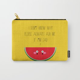 I don't know why Carry-All Pouch