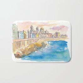 Cadiz Costa De La Luz Waterfront Bath Mat