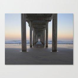 Scripps Pier at Sunrise (Digital) Canvas Print