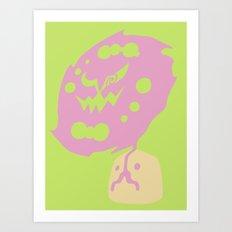 Pocket Monster 442 Art Print