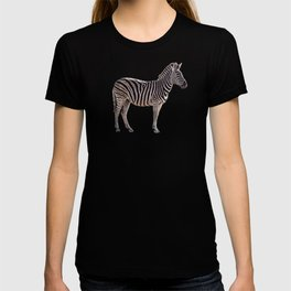 Life's a Zoo in Zebra T-shirt
