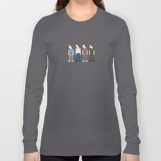 Stand By Me 8-Bit Long Sleeve T-shirt