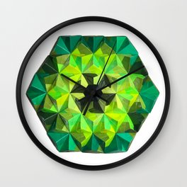 Forest Hues Wall Clock