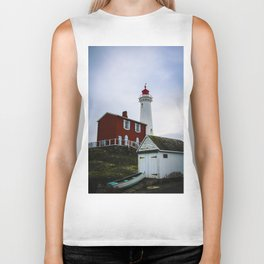 fisgard lighthouse Biker Tank