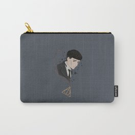 Credence Barebone + Deathly Hallows necklace Carry-All Pouch