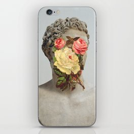 Bust With Flowers iPhone Skin