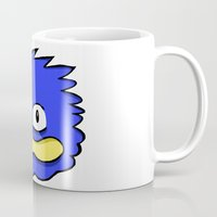sonic Mugs featuring fake sonic by crapAdoodle