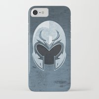magneto iPhone & iPod Cases featuring Magneto by Tony Vazquez