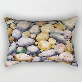 beach stones Rectangular Pillow