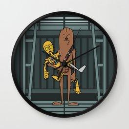 EP5 : Chewie & C3PO Wall Clock