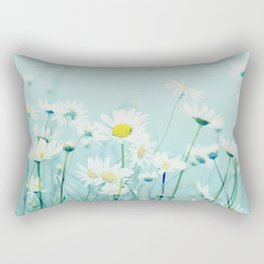 Dancing Daisies Rectangular Pillow