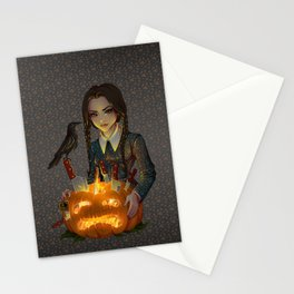 Wednesday Addams - Homicide Stationery Cards