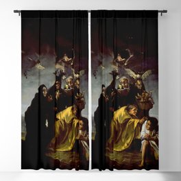 THE WITCHES SPELL - FRANCISCO GOYA Blackout Curtain