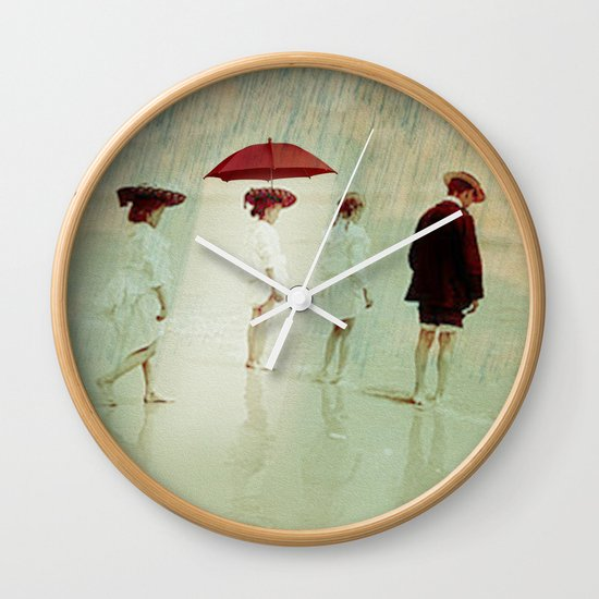 Waiting on a sunny day Wall Clock
