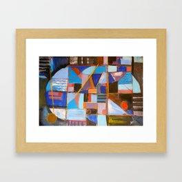 Goin' Nautical Framed Art Print