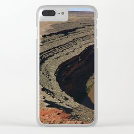The Goosnecks - A Meander Of The San Juan River Clear iPhone Case