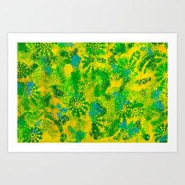 Yellow Meadow Art Print