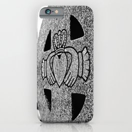 Winter Claddagh iPhone Case