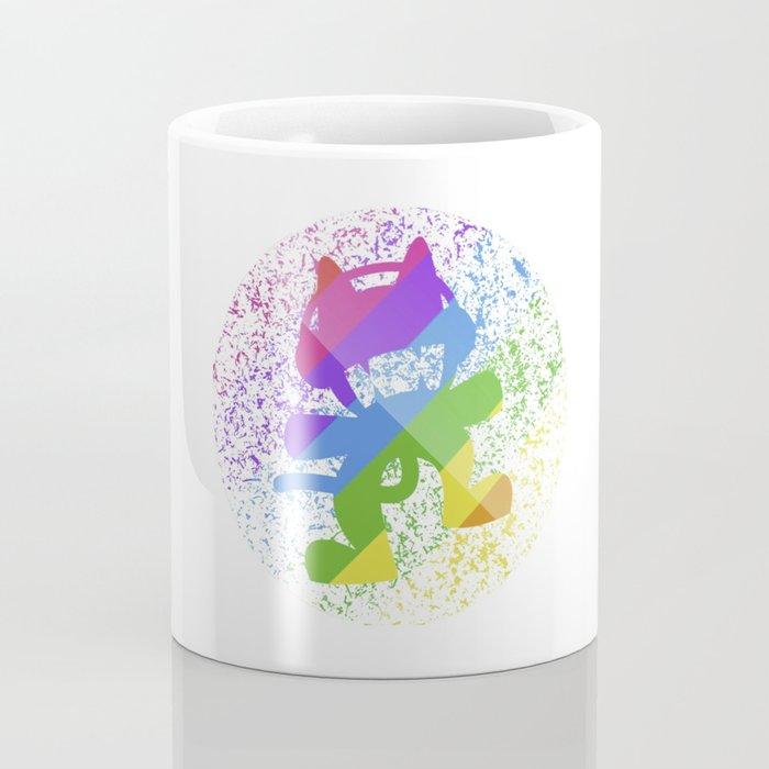 Rainbow MonsterCat Coffee Mug