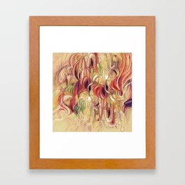 Für Elise (furry sketch:) Framed Art Print