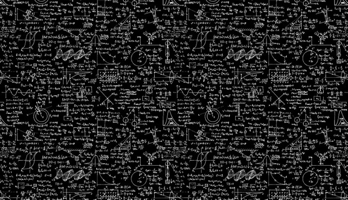 Physics Equations On Chalkboard Pillow Sham