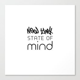 NY State of Mind Canvas Print