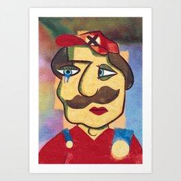 Mario Picasso Art Print