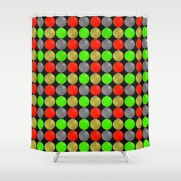 Merry...New Year! Shower Curtain
