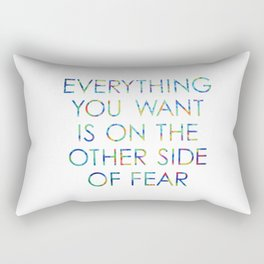 Everything You Want Rectangular Pillow