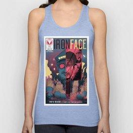 "Iron Face: Part 1 ""He's Back"" Unisex Tank Top"