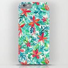 Paradise Floral - a watercolor pattern Slim Case iPhone 6s Plus