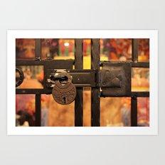 All Locked Up Art Print