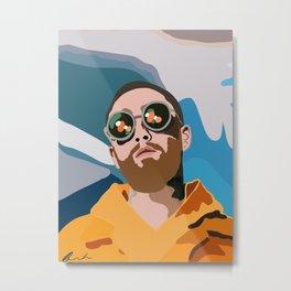 Mac Miller Metal Print