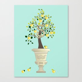 Guarding Golden Apples Canvas Print