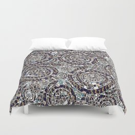 Year of the Snake mosaic Duvet Cover