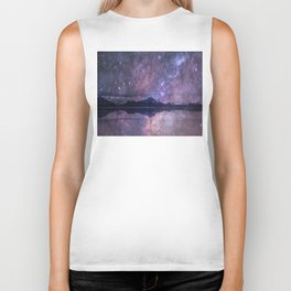 Space and time Biker Tank