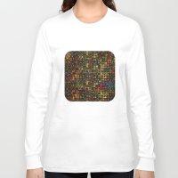 mosaic Long Sleeve T-shirts featuring Mosaic by Klara Acel