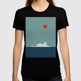 Cat Landscape 95 T-shirt