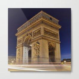 Arc_de_Triomphe_2015_0401 Metal Print