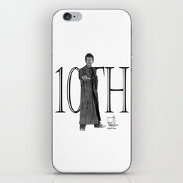 10th Doctor iPhone Skin