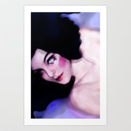 Indaco Art Print