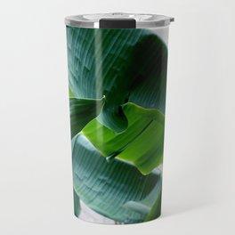 banana green leaf Travel Mug