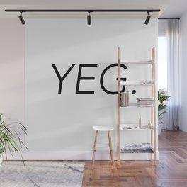 YEG City Code - Edmonton Wall Mural
