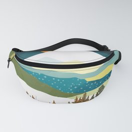 Winters Night Fanny Pack