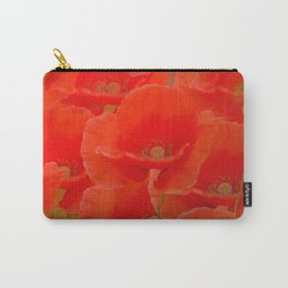 Red Poppies #decor #buyart #society6 Carry-All Pouch